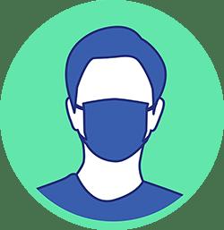 gestes barrières Animask porter un masque