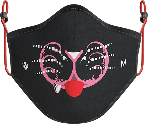 cut cat masque animask